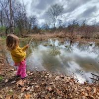 Fishing in Beaver Pond