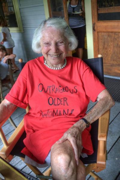 An Outrageous Older Woman