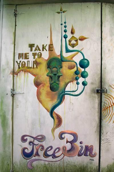 Take Me To Your Free Bin