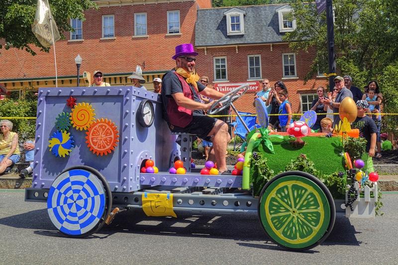 The Wonka Wagon