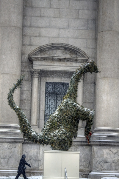 Dino-Wreath