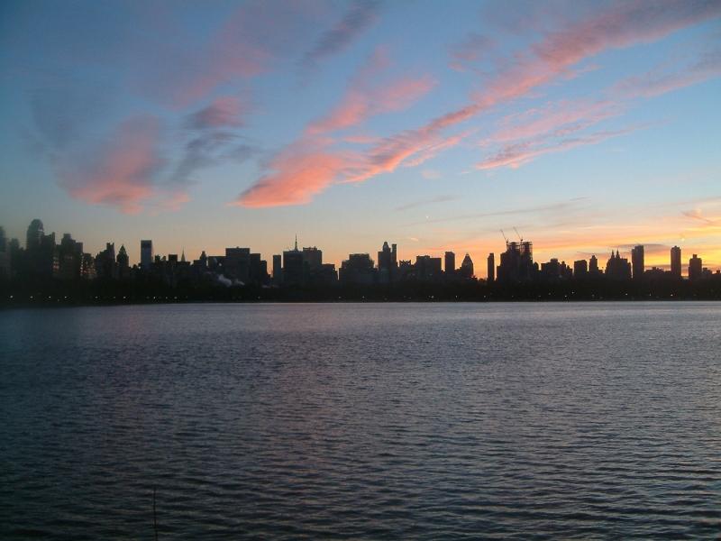Manhattan Skyline Central Park