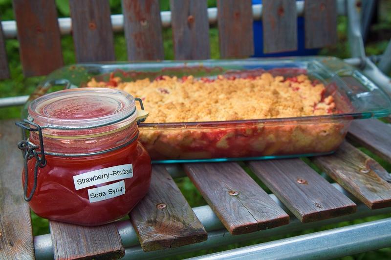 Strawberry Rhubarb Frenzy