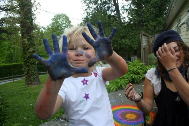 Caught-Blue-Handed