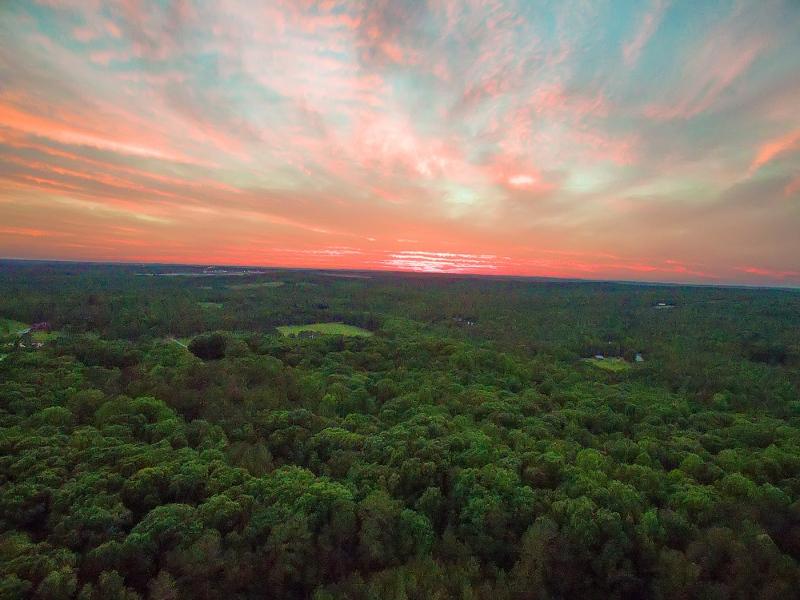 Sunset Over NC