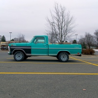 This Is A Blue Truck
