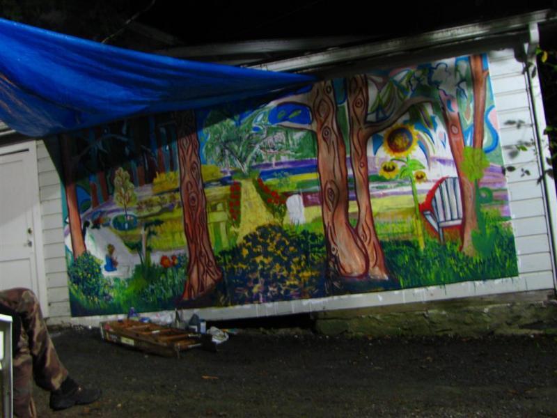 Art-Hut-Mural
