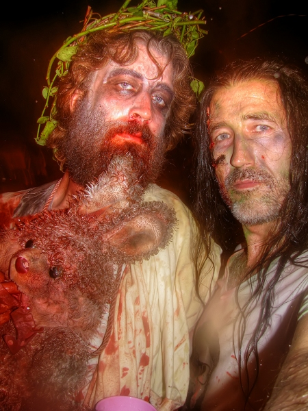 Me-and-Zombie-Jesus-with-Mr-Easter-Bunny