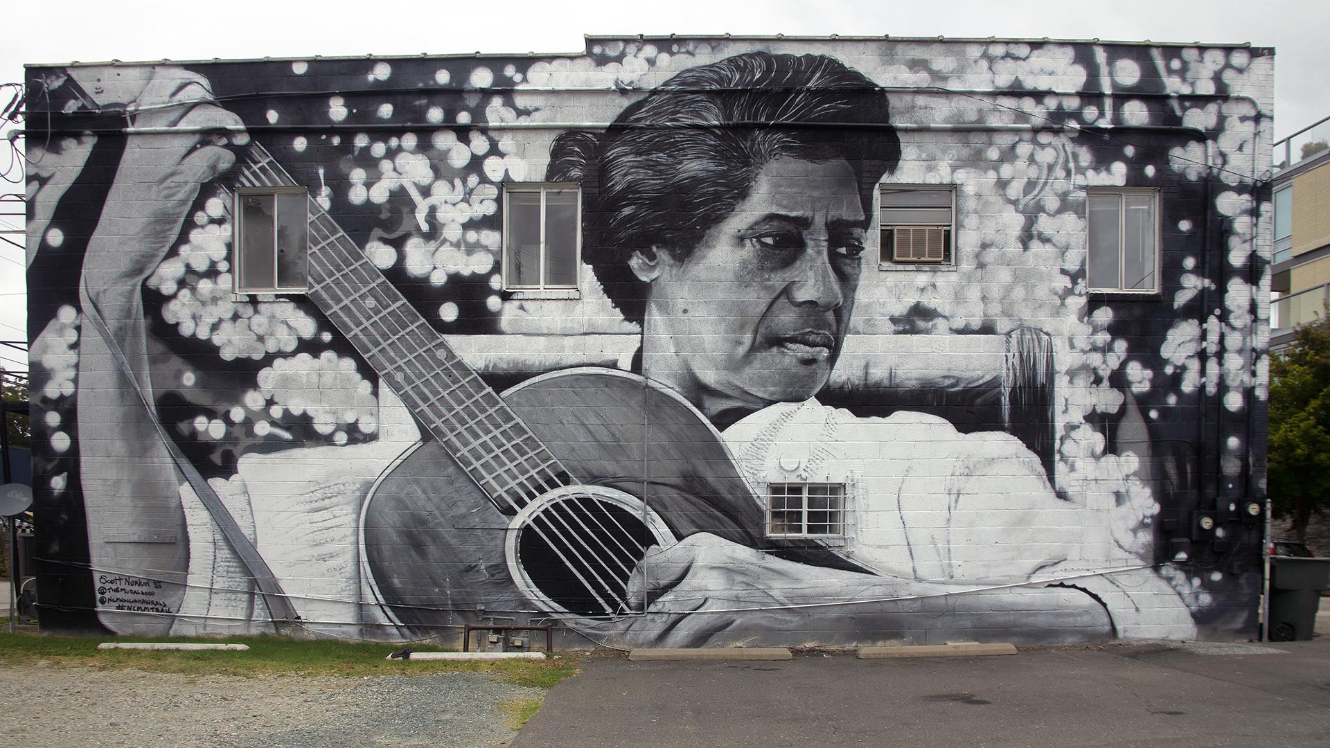 Elizabeth Cotten Mural